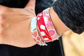 made bracelet images Make bracelets from fabric scraps diy network blog made jpeg