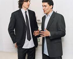 men u0027s dressing tip u2013 wrong untucked shirttail with a suit
