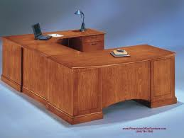 Desk U Shaped U Shaped Desk Executive Desk With Bow Front