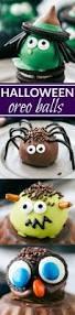 halloween oreo truffles witch spider frankenstein and owl