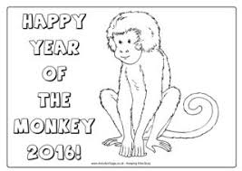 year of the monkey activities for kids