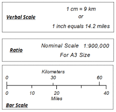 map scales map scale geospatial