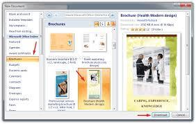 microsoft word 2010 templates brochure oshibori info
