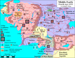 a map of middle earth middle earth 4th age axis allies wiki fandom powered by wikia