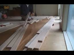 unfinished oak hardwood flooring installation