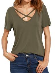 criss cross blouse allegrace summer criss cross sleeve open back t