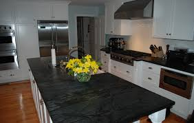 beautiful hudson ash counters in the kitchen by saratoga soapstone