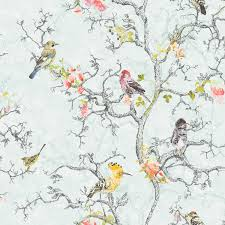 wallpaper with birds statement ornithology blue birds wallpaper blue wallpapers
