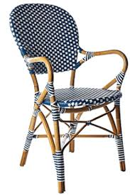 Navy Bistro Chairs Serena And Lily Riviera Side Chair Copycatchic