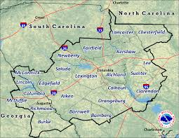 Charleston Zip Code Map by Skywarn Storm Spotter Program