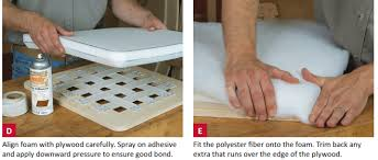 Upholstery Foam Adhesive Slip Seat Upholstery