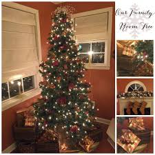White Christmas Tree With Red And Gold Decorations Christmas Trees Wishes And The Wetherills Say I Do Love The