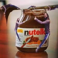 Nutella Meme - jared hugging a nutella jar jared leto huggin memes popsugar