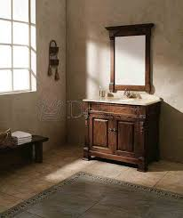 Bathroom Furniture Classic Solid Wood Bathroom Vanity BOSCO  Oak - Solid wood bathroom vanity uk