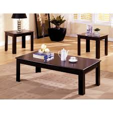 furniture of america cm4168 town square coffee table set the mine