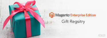 gift registry gift registry in magento enterprise