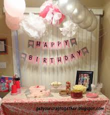 home decor cool birthday decoration at home for husband decorate