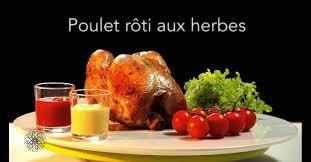 cuisine choumicha poulet choumicha poulet rôti aux herbes vf