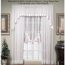 How To Hang A Drapery Scarf by Nimbus Stripe Ascot Valances And Window Treatments
