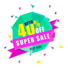 sale with special offer upto 50 creative paper tag