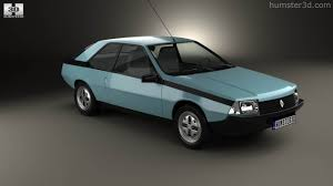 renault fuego 2014 360 view of renault fuego 1980 3d model hum3d store