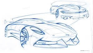porsche concept sketch concept car design designing fever magazine