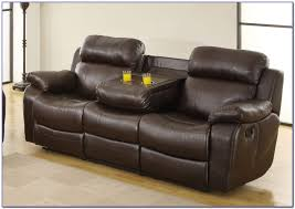 Reclining Sofa With Console by Dual Reclining Sofa With Console Centerfieldbar Com