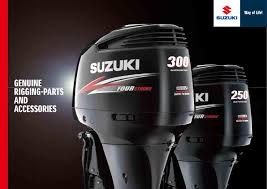 2015 suzuki marine genuine rigging parts and accessories by