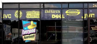 window graphics vinyl decals window lettering logo store hours