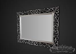 silver black ornamental mirrors from ornamental mirrors limited