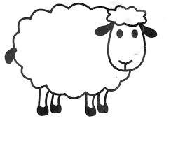 25 sheep template ideas lamb craft lamb