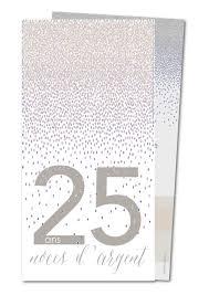 25 ans de mariage carte d invitation mariage 25 ans noces d argent planet cards