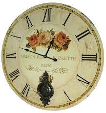 horloge cuisine horloge murale de salon en bois pendule à balancier de cuisine