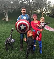 Superhero Family Halloween Costumes Celebrity Halloween Costumes 2016 Popsugar Celebrity
