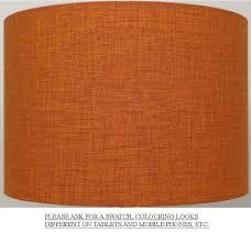burnt orange lamp shade 12049 astonbkk com