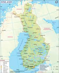Paper Towns On Maps Finland Map Map Of Finland