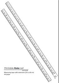 printable ruler pdf a4 triangle ruler measuring tape printable easy printables