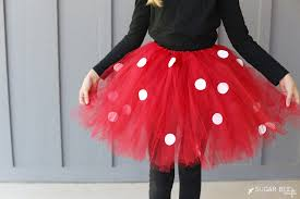 Buy Glam Red Minnie Costume by Diy Minnie Mouse Costume Yep No Sew Sugar Bee Crafts