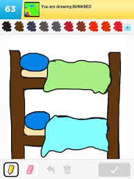 Bunk Bed Drawing Bunkbed Drawings How To Draw Bunkbed In Draw Something The