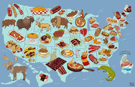 America Map With States by United Steaks Of America Map If Each State Could Have Only One