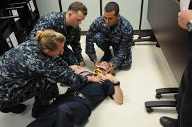 quantico clinic base fire and emergency services start training
