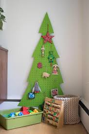 deck the walls with one of these small space christmas trees diy