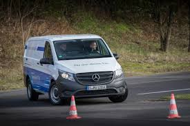 mercedes commercial van mercedes benz vito with electric drive