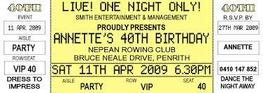 printable ticket template