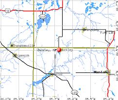 buckley afb map buckley michigan mi 49620 profile population maps