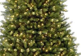 12ft pre lit dunhill fir artificial tree garden