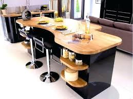 cuisine et bois deco cuisine noir et bois impressionnant best table de cuisine
