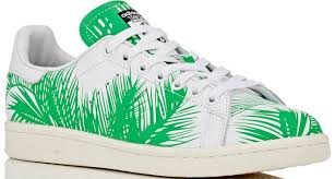 pharrell x bbx launch adidas stan smith palm tree sneakers