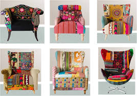 Colorful Furniture by Vintage The Decor8