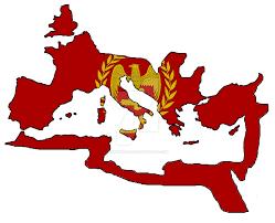Byzantine Empire Flag Roman Empire Flag Map By Hannibal269 On Deviantart